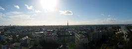 Rennes vu depuis les Horizons