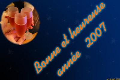 Meilleurs voeux 2007