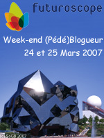Week-end au Futuroscope 24-25 mars 2007!