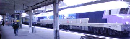 En gare de Reims