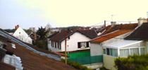 Vue depuis ma chambre vers Reims