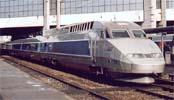 TGV au départ de Rennes