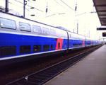 TGV duplex en gare de Rennes