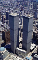 World trade center, NY, USA avant le 11 sep 2001